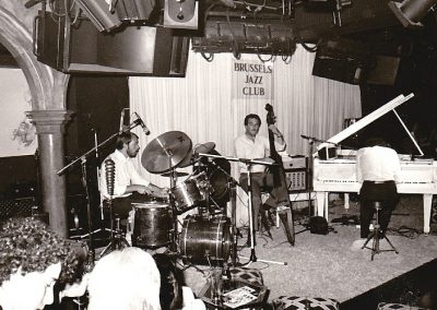 1979 Brussels Jazzclub with Fred Krens and Daan Gaillard