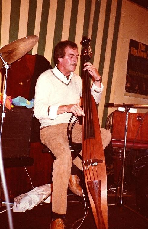 1980 Daan Gaillard at Pol's Jazzclub Brussels