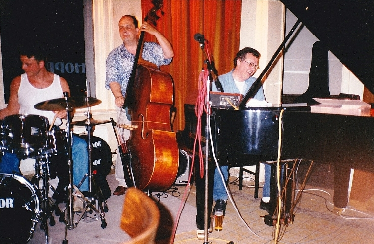 1995 with Hans Mantel and Wim de Vries at Hopper Antwerp