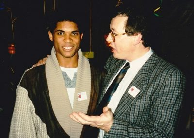 1988 for Casio event with Stanley Jordan
