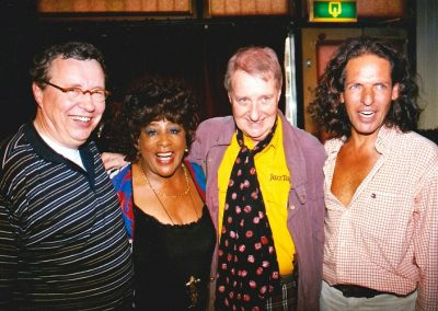 2001 With Milly Scott, John Engels and Harry Emmery