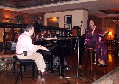 2003 with Mandy Gaines at Regent Hotel Singapore